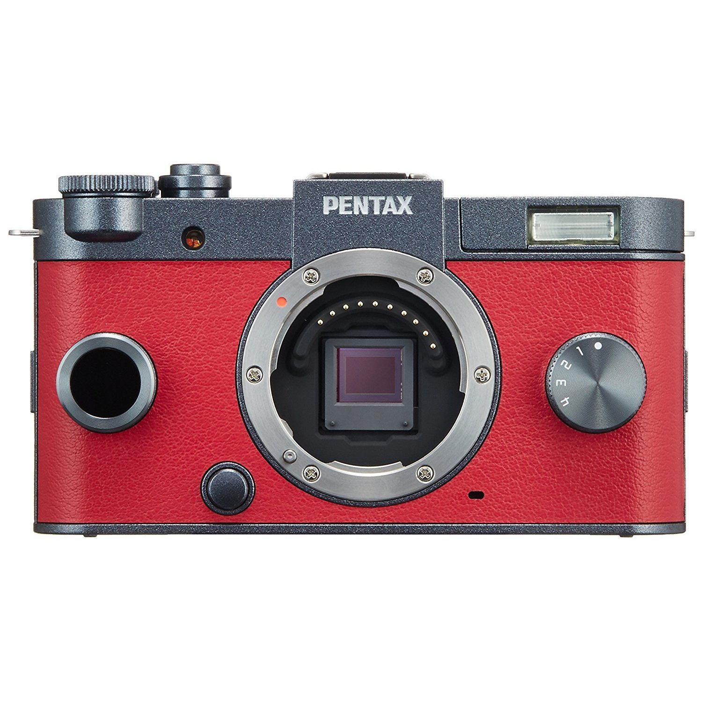 Pentax Q-S1 Hybridný 12 - Červená/Čierna