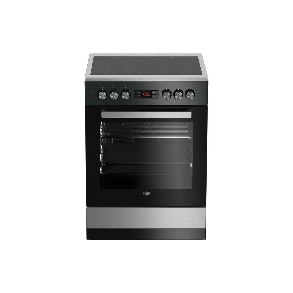 cuisiniere vitroc ramique beko fse67301xcs reconditionn back market. Black Bedroom Furniture Sets. Home Design Ideas