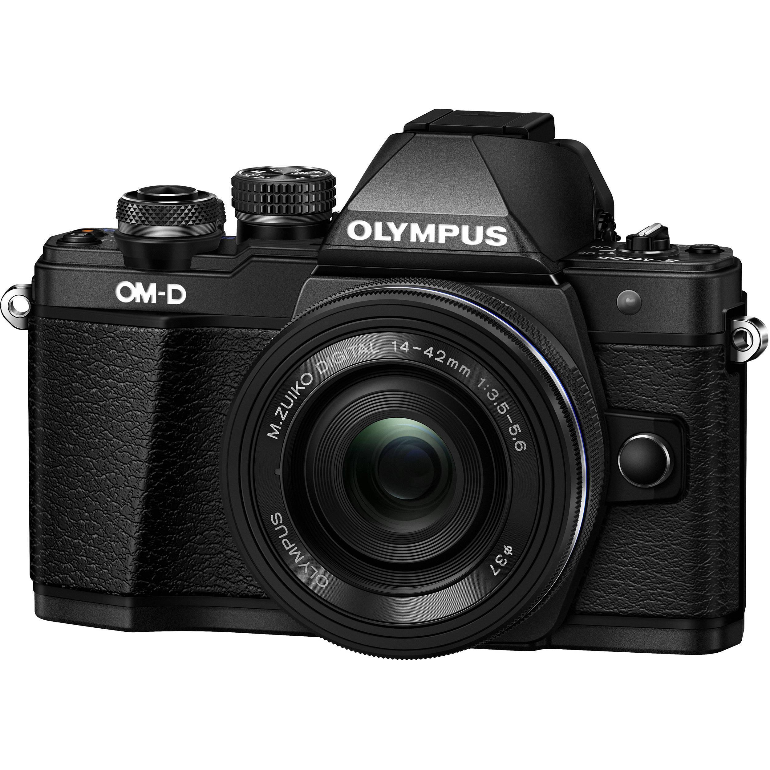 Videocamere Olympus OM-D E-M10 Nero