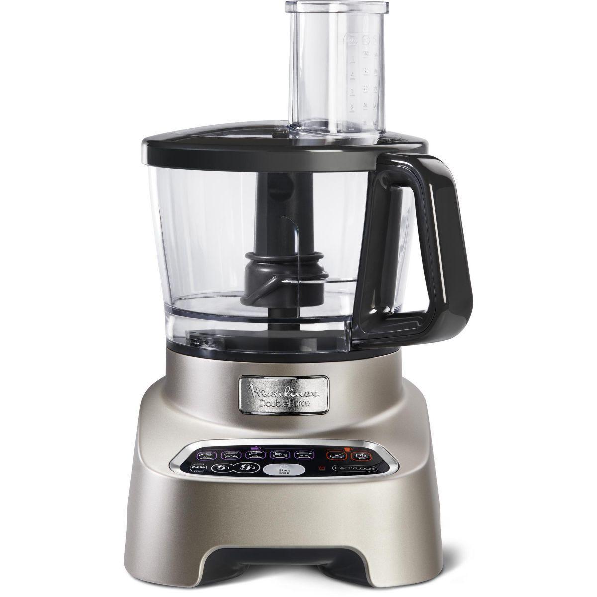 Multifunktions-Küchenmaschine MOULINEX FP826H10 Schwarz