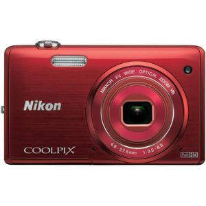 Compatto - Nikon COOLPIX S5200 - Rosso