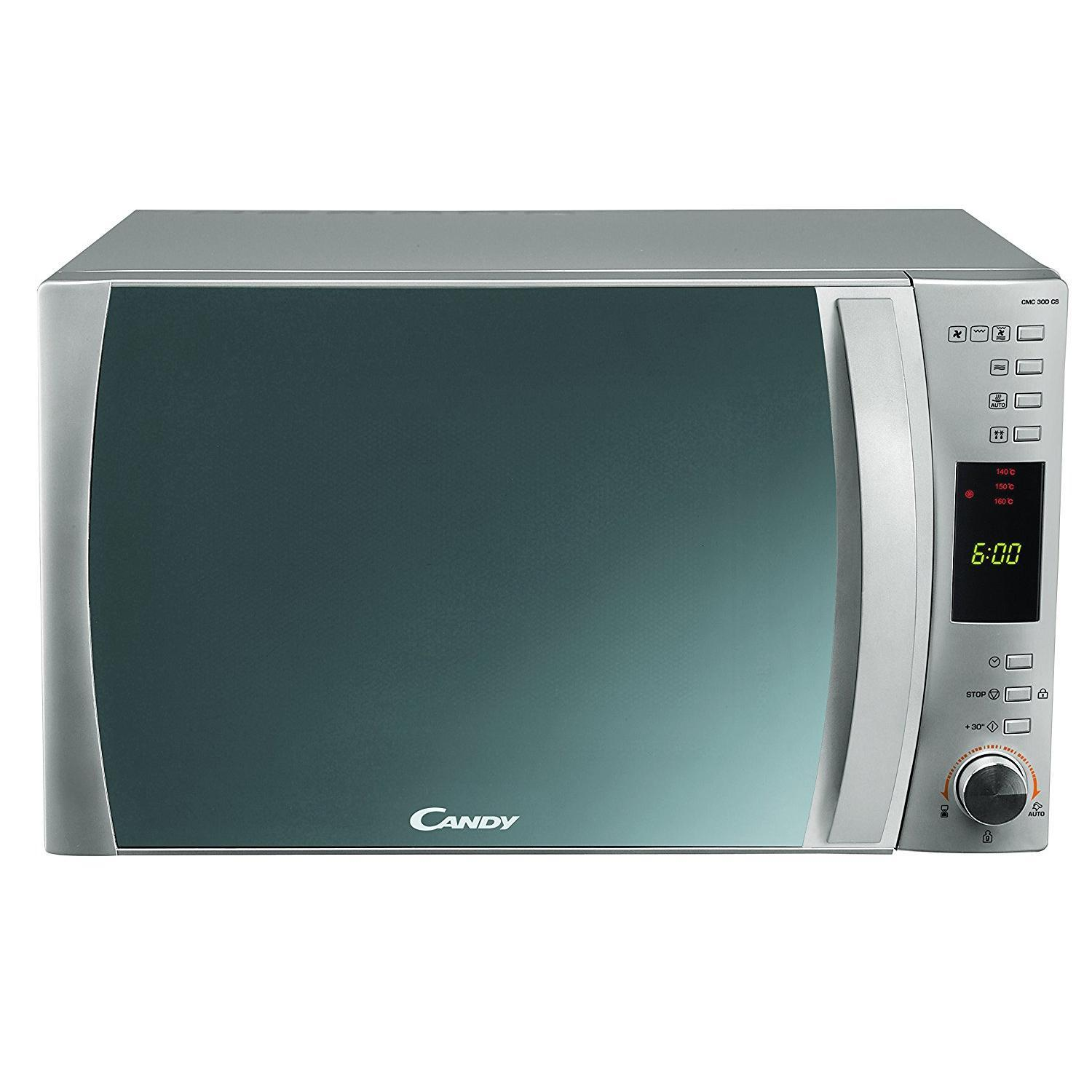 micro ondes grill + four candy cmc 30 dcs reconditionné | back market