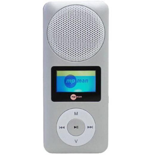 Mpman FIESTA2 MP3 & MP4-soitin & MP4 2GB - Harmaa