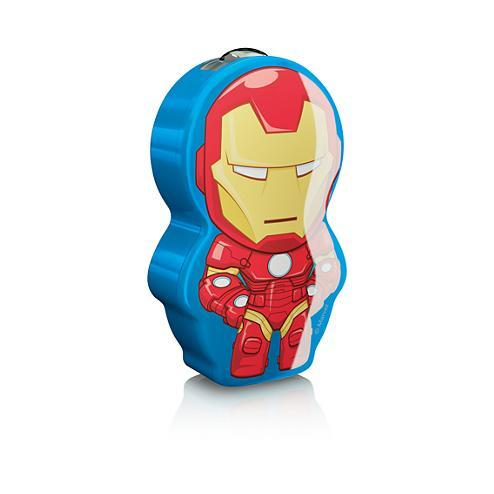 Lampe torche Iron Man Philips 717673516