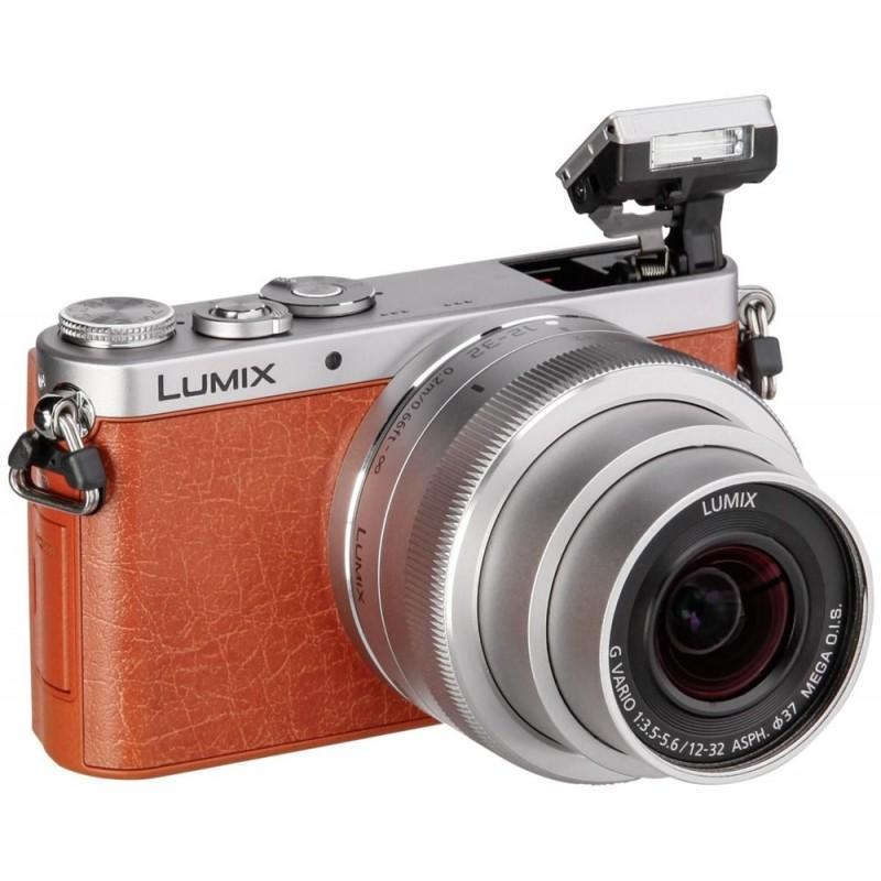 Hybride - Panasonic Lumix GM1 - Orange + Objectif 12-32 mm