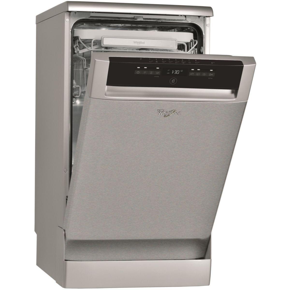 Lave vaisselle 45 cm whirlpool adp 522ix 10 couverts - Lave vaisselle 10 couverts ...