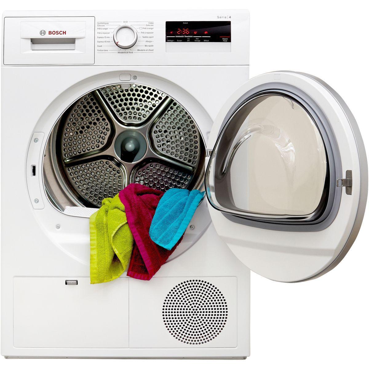 Sèche linge à condensation BOSCH WTN 85220FF