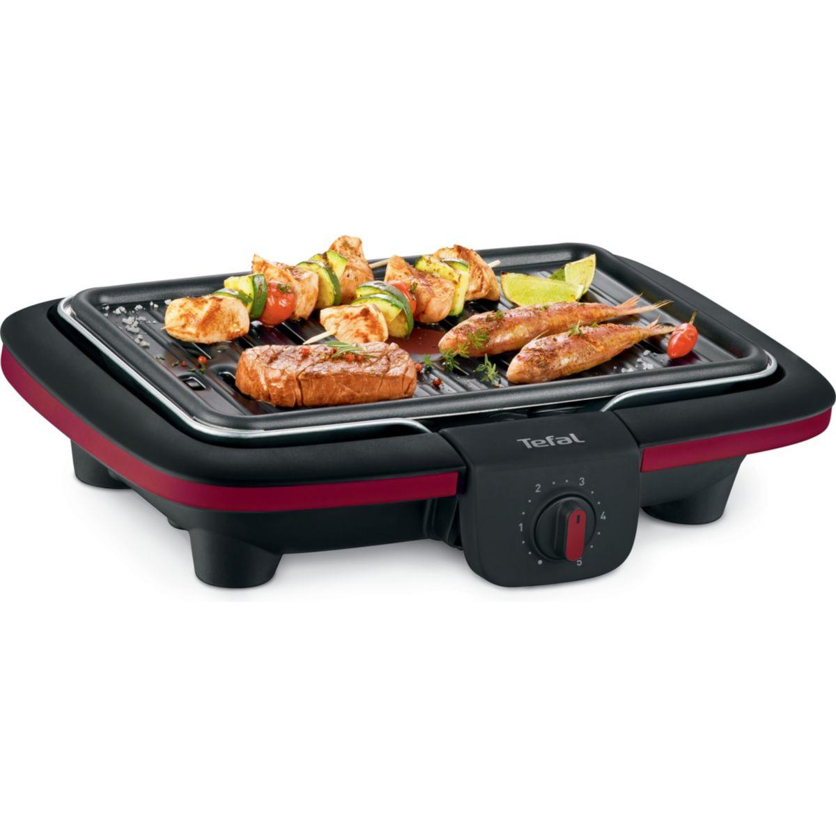 Barbecue électrique TEFAL CB901012 EASY GRILL CONTACT