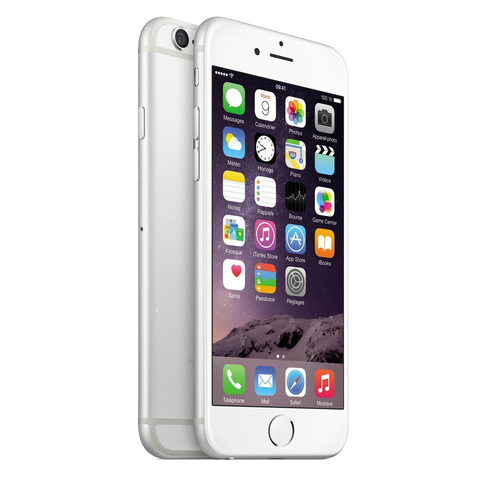 iPhone 6 128 GB - Silber - Ohne Vertrag