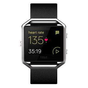 Fitbit Ρολόγια Blaze Παρακολούθηση καρδιακού ρυθμού GPS - Ασημί/Μαύρο