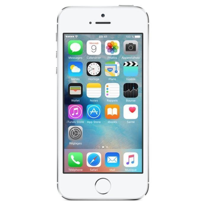 iPhone 5S 64 Go - Argent - Débloqué