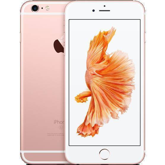 IPHONE 6S PLUS 128 GO OR Rose Débloqué