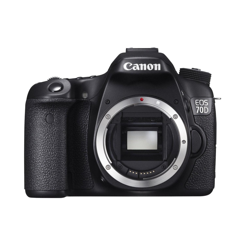 Reflex - Canon EOS 70D Sin objetivo - Negro
