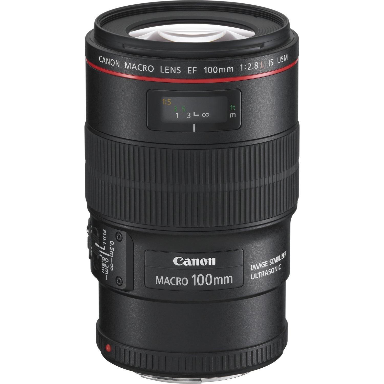 Objectif Canon EF 100mm 1:2.8L IS USM Macro