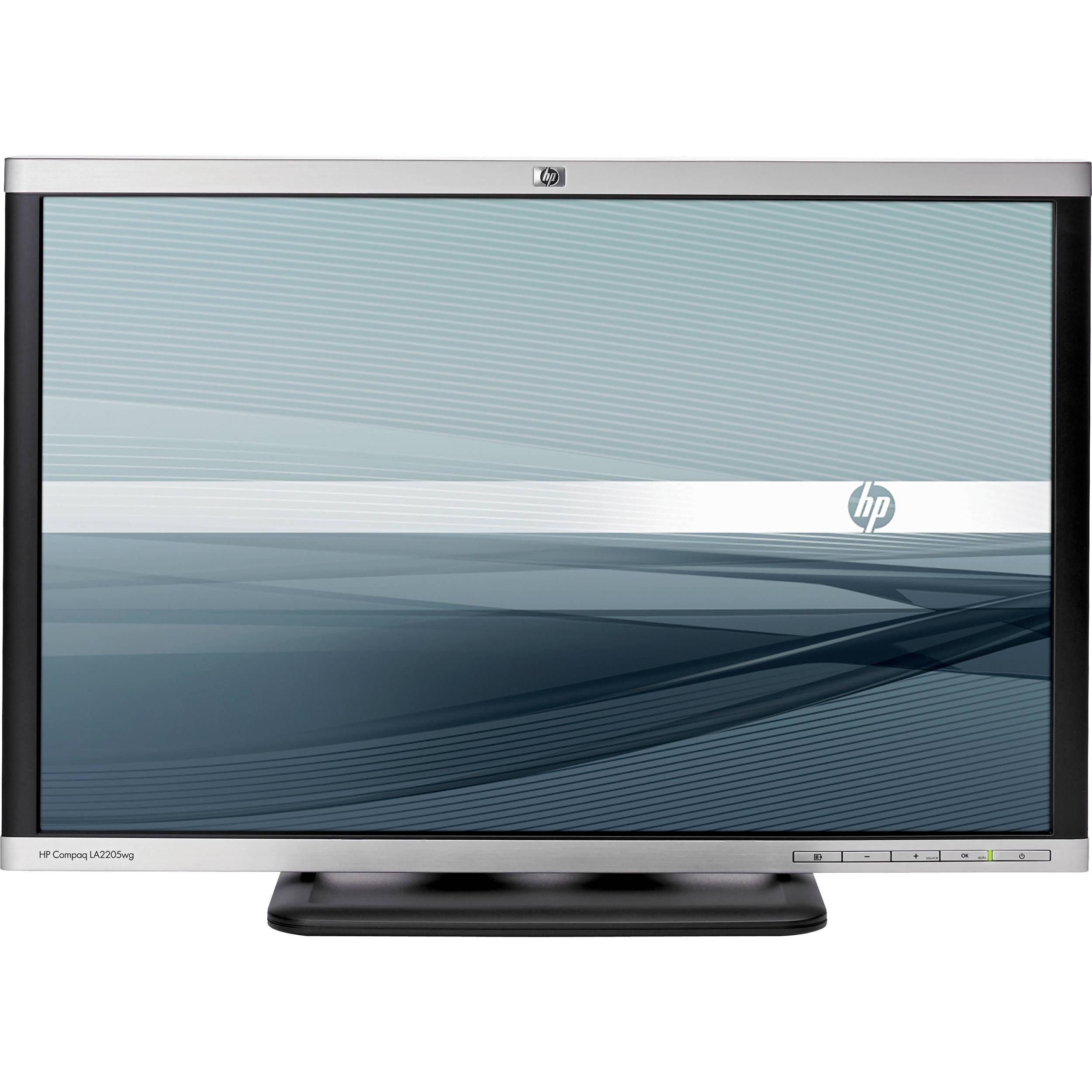 22-inch HP Compaq LA2205WG 1680 x 1050 LCD Monitor Black/Silver