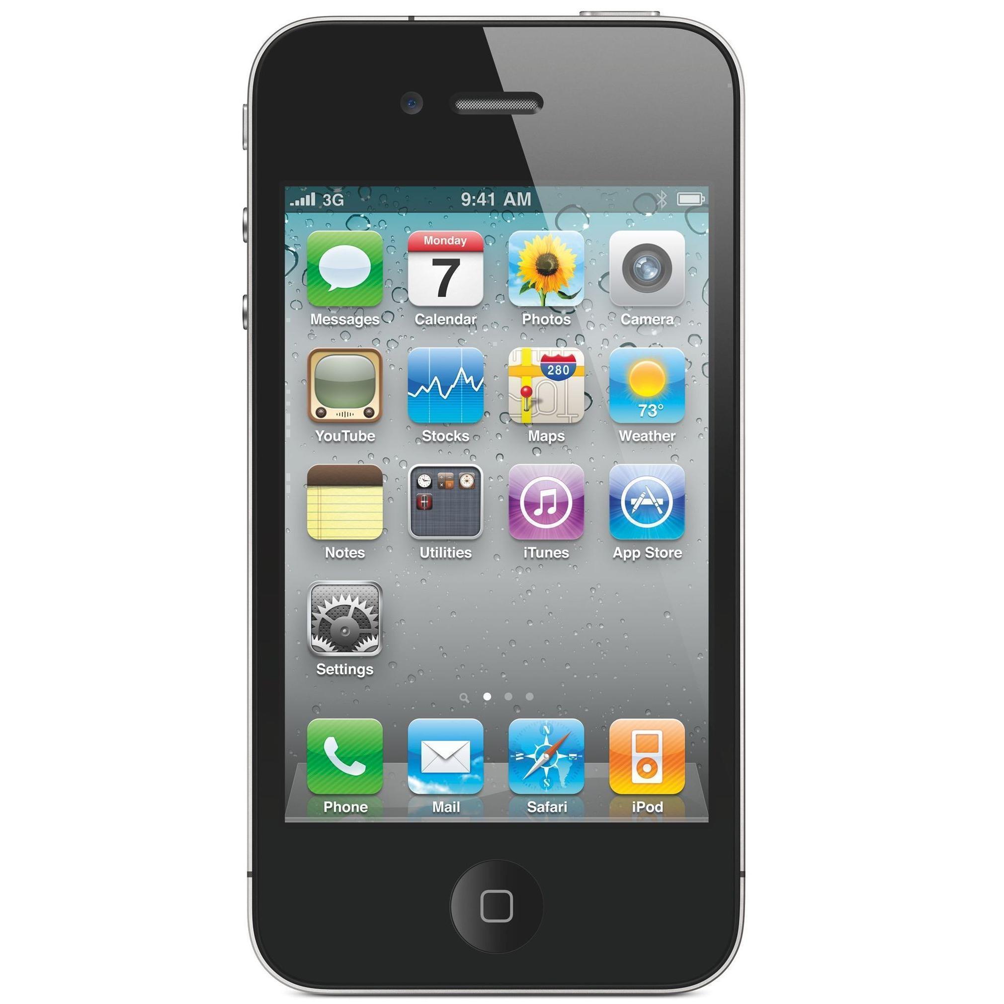iPhone 4S 16 GB - Schwarz - Ohne Vertrag