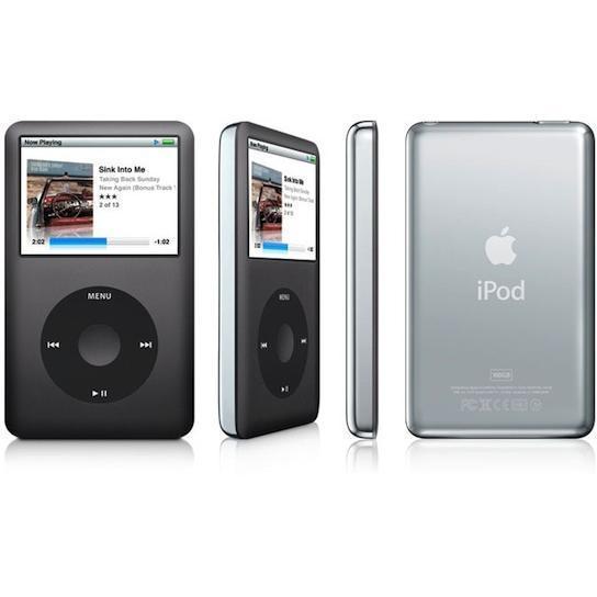 Lecteur MP3 80 Go Ipod Classic - Noir