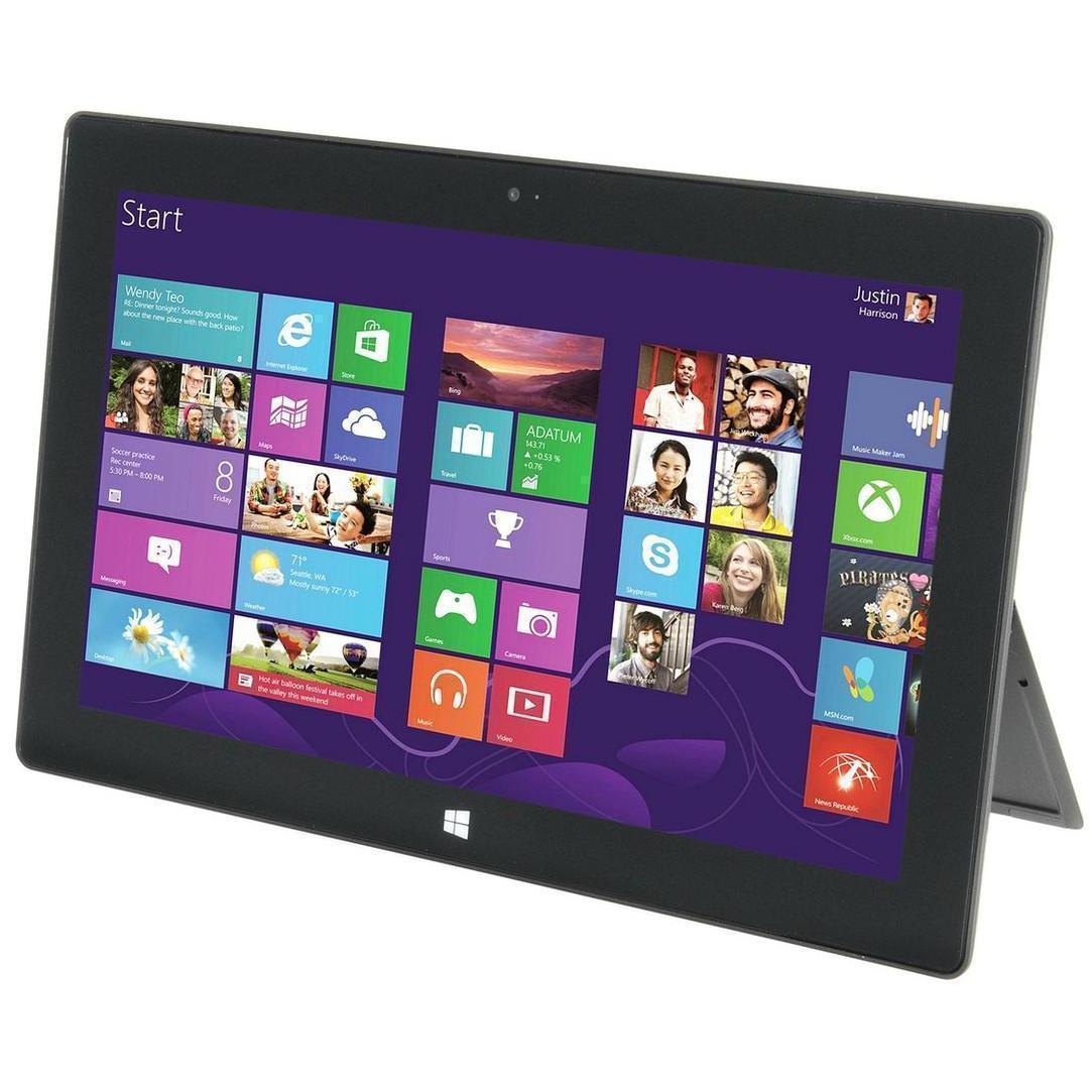 """Microsoft Surface RT - 10,6"""" 32 Go - Wifi - Noir"""