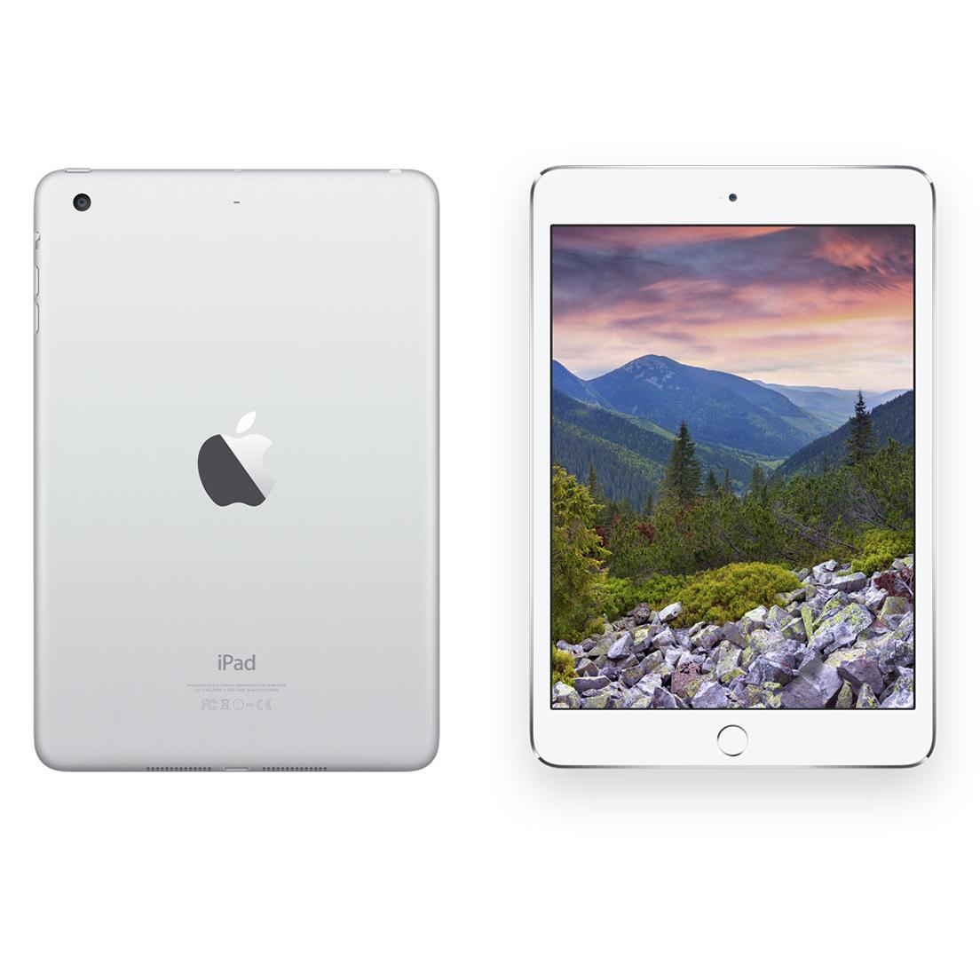 iPad mini 2 128 Go - Wifi + 4G - Argent - Débloqué