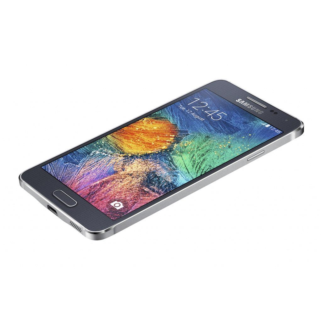 Samsung Galaxy Alpha 32GB Schwarz - Ohne Vertrag