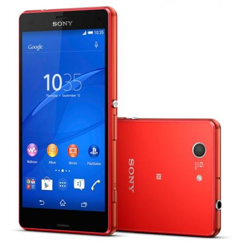 Sony Xperia Z3 Compact 16 Go - Rouge - Orange