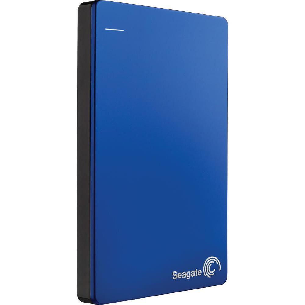 Disque dur externe 2,5'' 1 To USB 3.0 - Seagate Backup Plus Slim - Bleu
