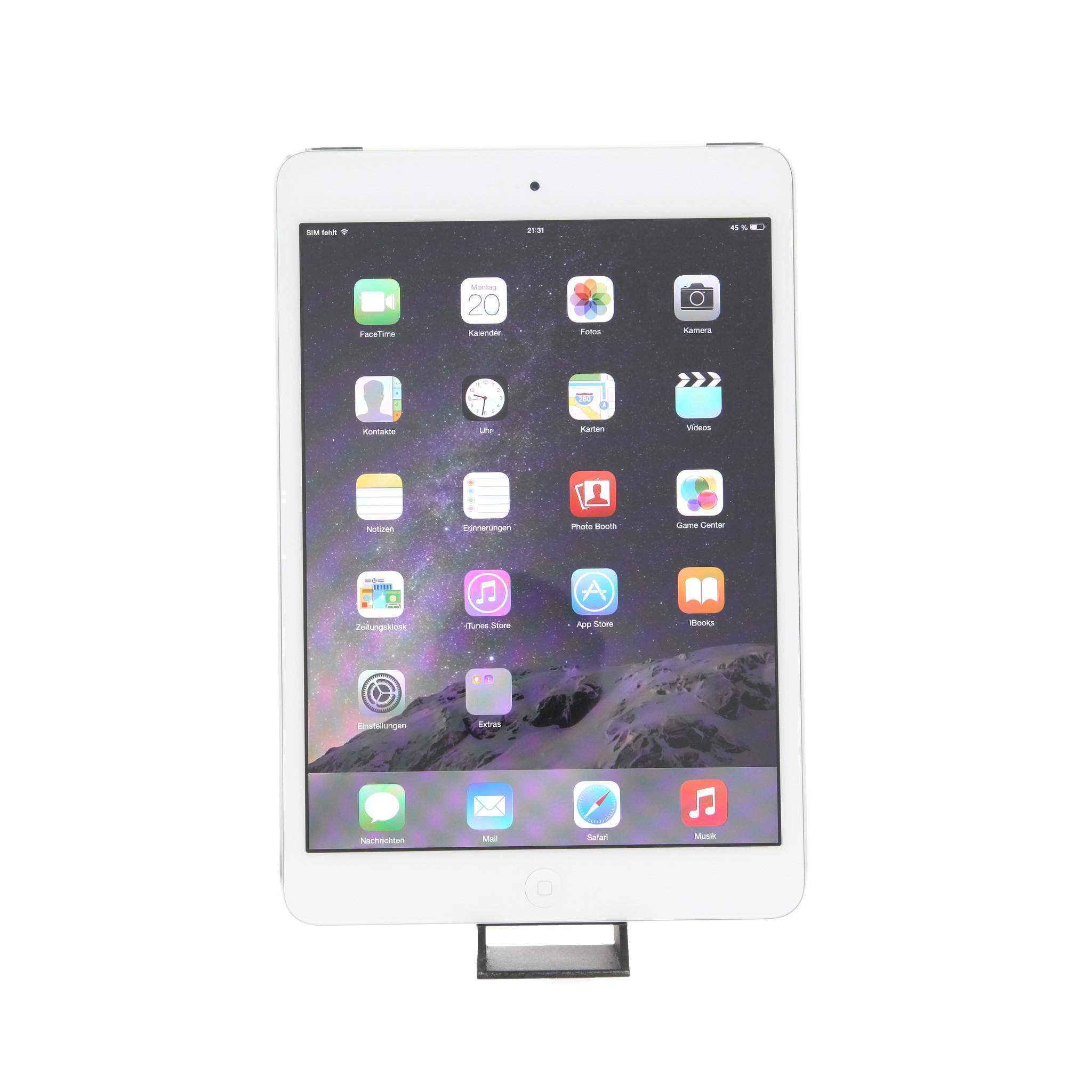iPad mini 16GB - WLAN + LTE - Weiß - Ohne Vertrag