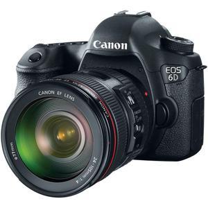 Yksisilmäinen peiliheijastuskamera - Canon EOS 6D - Musta + Canon EF 24-105 mm f/4L IS II USM - Objektiivi