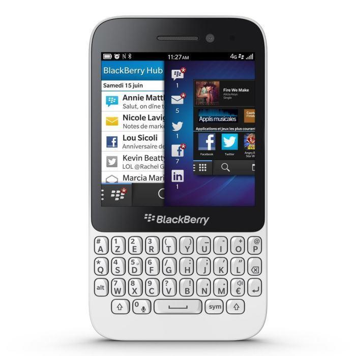 BlackBerry Q5 - Blanc - Débloqué