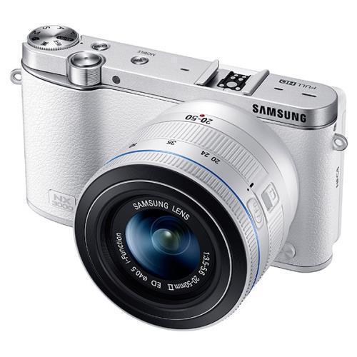Hybride - Samsung NX3000 - Blanc + Objectif Samsung 20-50mm