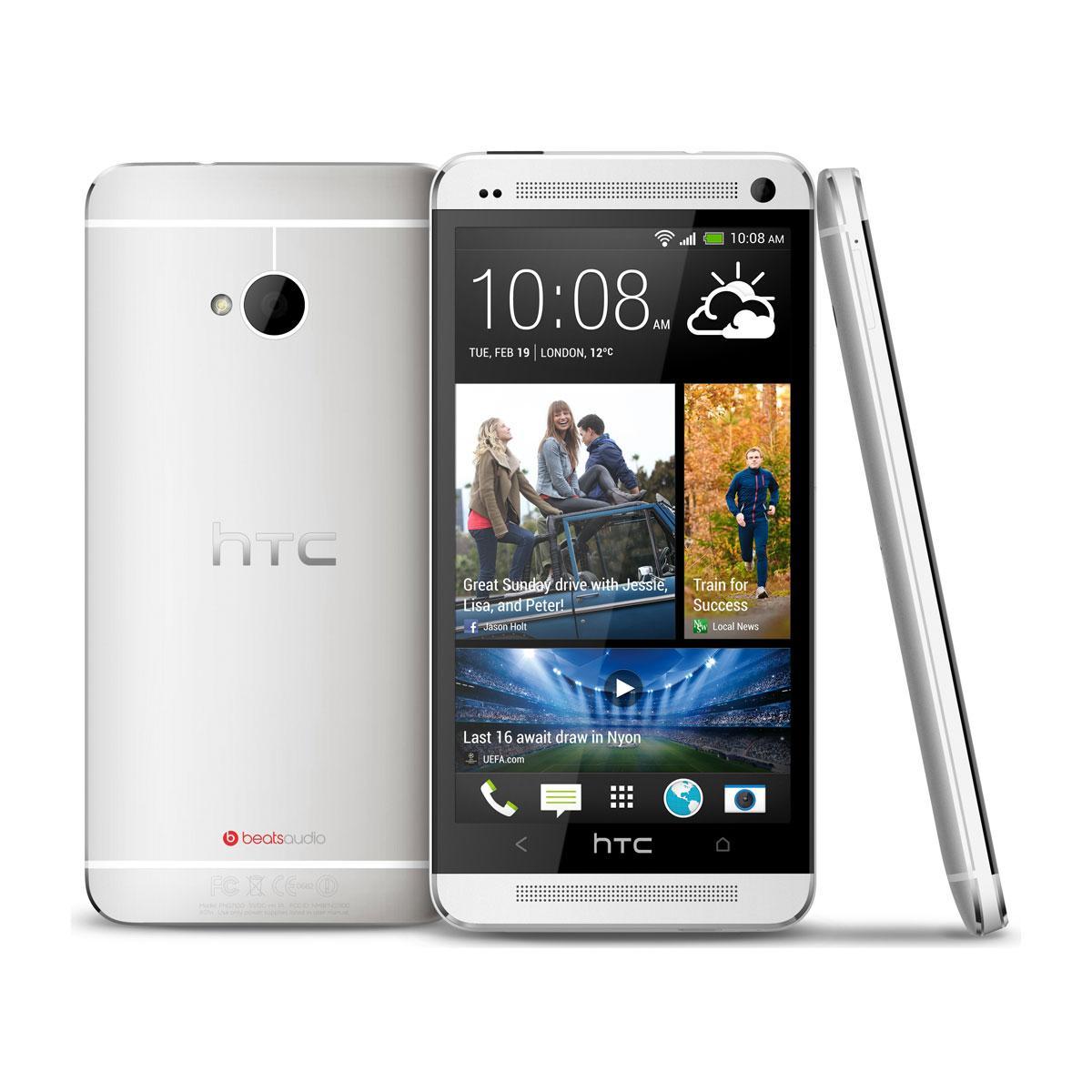 HTC One 32 Go - Argent - Débloqué