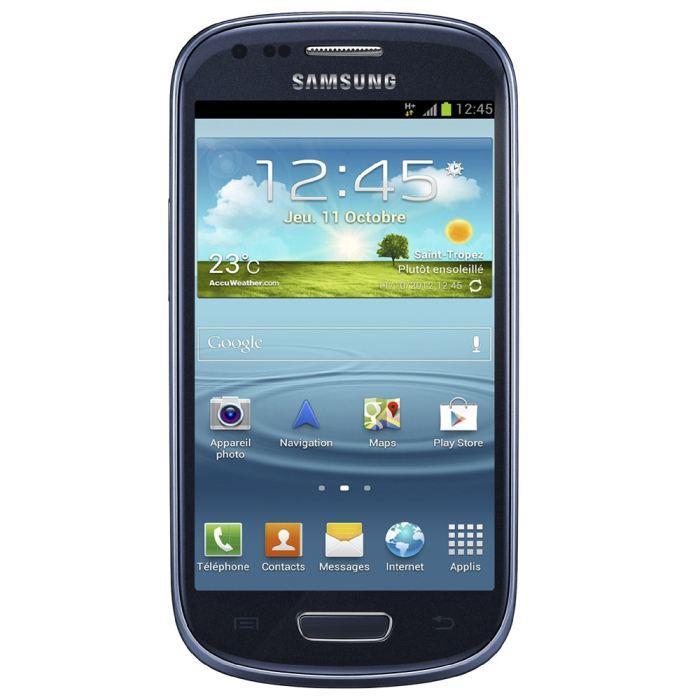 Samsung Galaxy S3 Mini 8 Go - Bleu - Débloqué