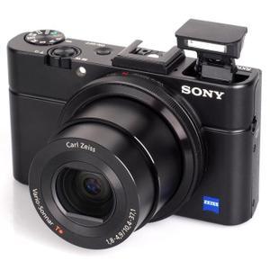 Kompaktikamera Sony Cyber-Shot DSC-RX100M2 Musta + Objektiivi Zeiss Vario-Sonnar T 10.4-37.1 mm f/1.8-4.9