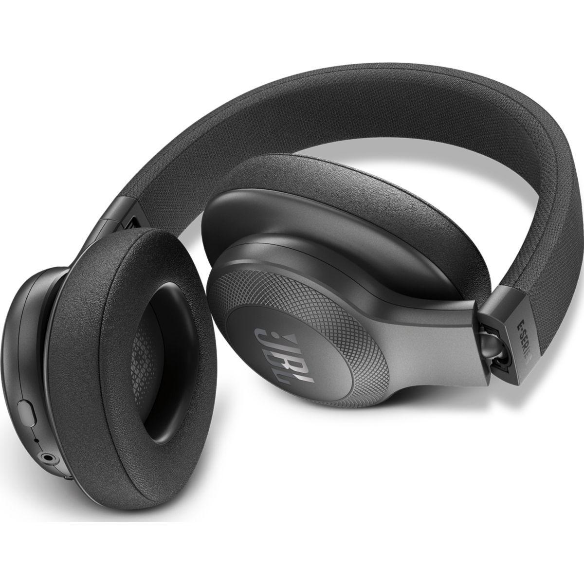 Cascos     Bluetooth  Micrófono Jbl E55BT - Negro