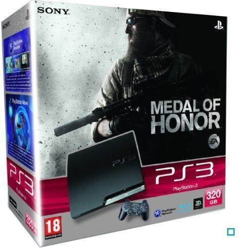 Console SONY Playstation 3 320Go + Manette + MEDAL OF HONOR - Noir
