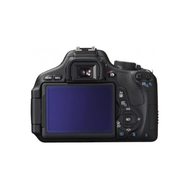 Reflex - Canon EOS 600D - Nero + Obiettivo Canon EF-Sv18-135MM f / 3.5 - 5.6