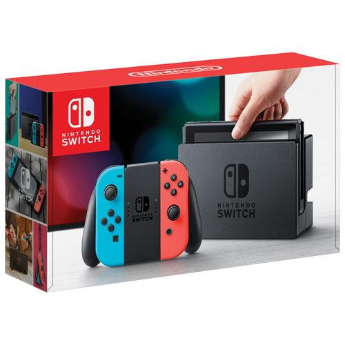 Nintendo Switch - HDD 32 GB - Rot/Blau