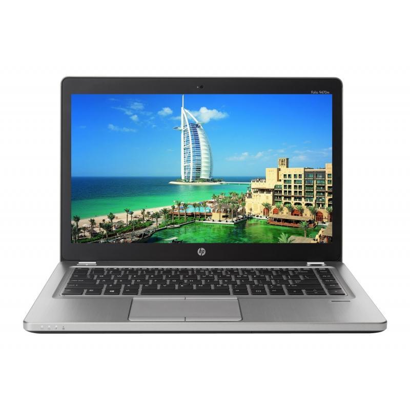 "HP EliteBook Folio 9470M 14"" Core i5 1,9 GHz - SSD 256 GB - 4GB AZERTY - Ranska"