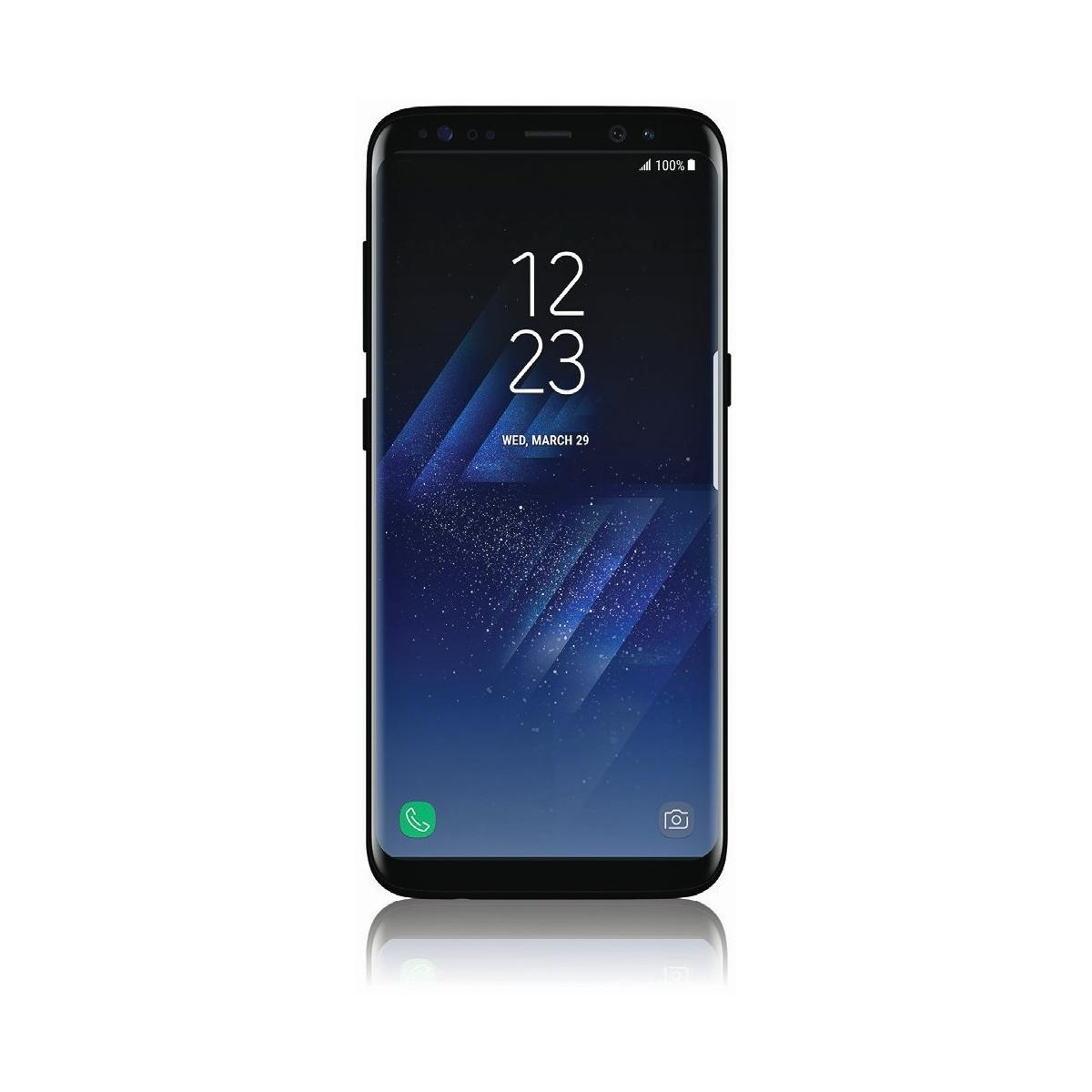 samsung galaxy s8 64 gb midnight black ohne vertrag. Black Bedroom Furniture Sets. Home Design Ideas