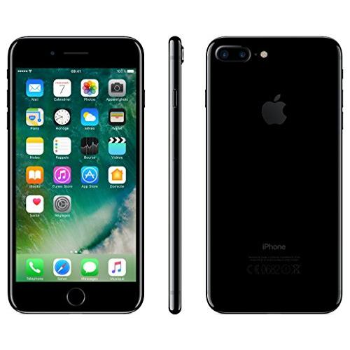 iphone 7 plus 128 go noir mat d bloqu reconditionn back market. Black Bedroom Furniture Sets. Home Design Ideas