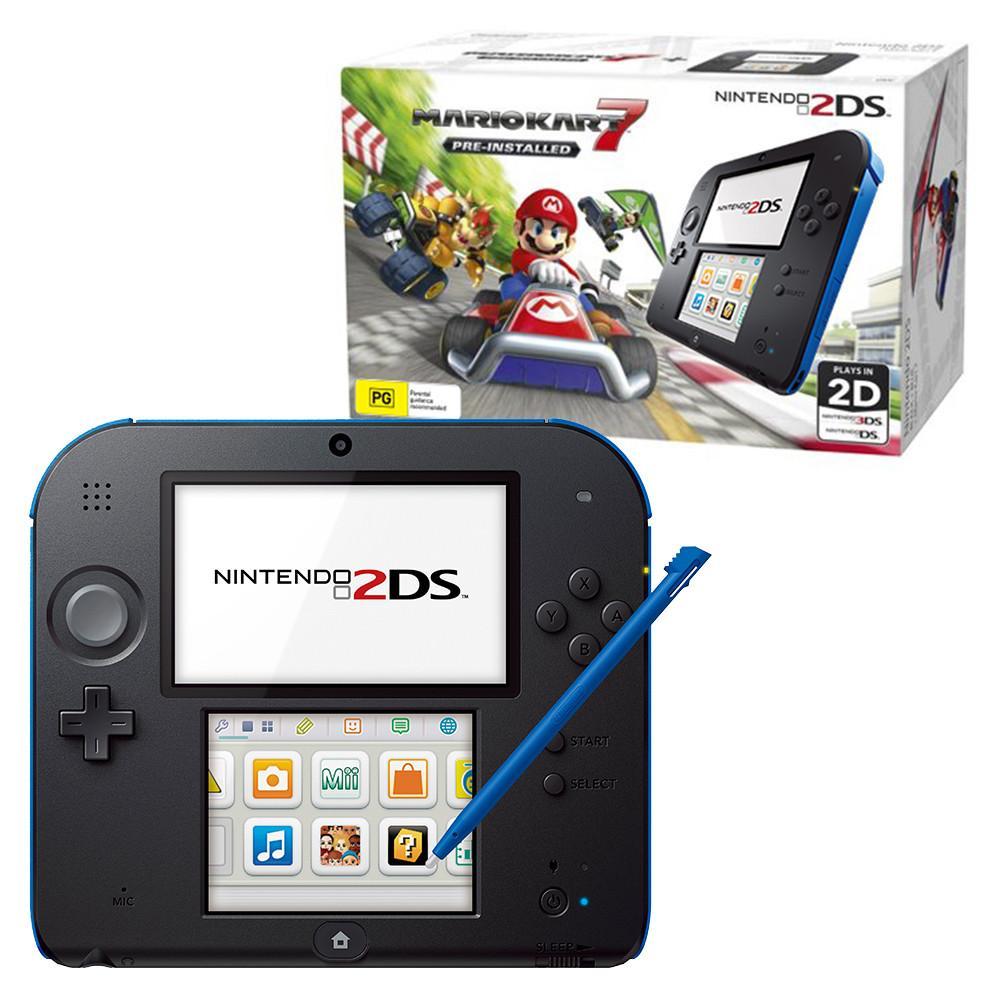 Nintendo 2DS - HDD 0 MB - Negro/Azul