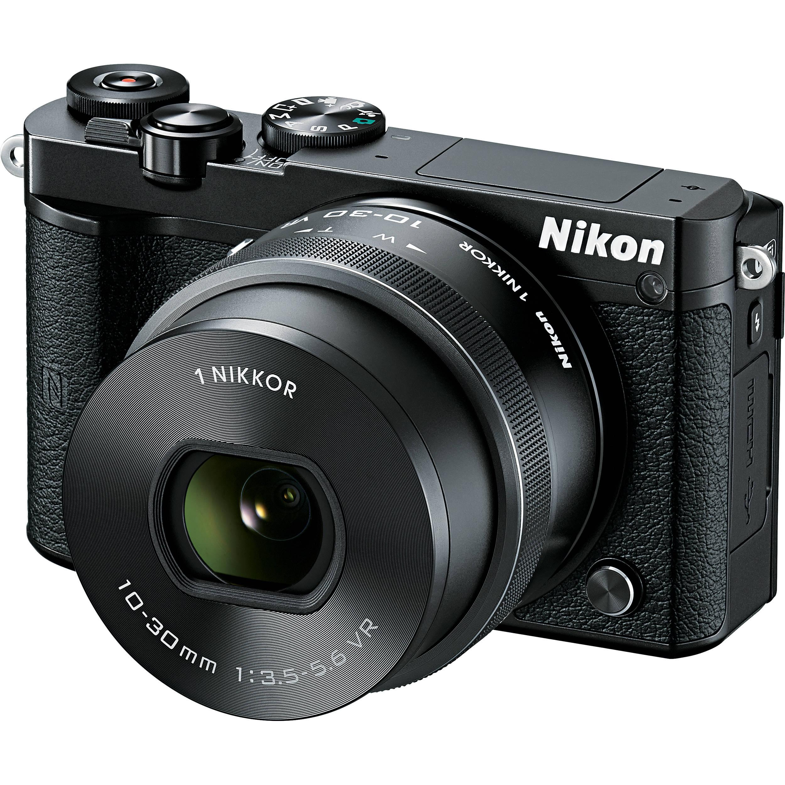 Hybride - Nikon 1 J5 Nu - Noir