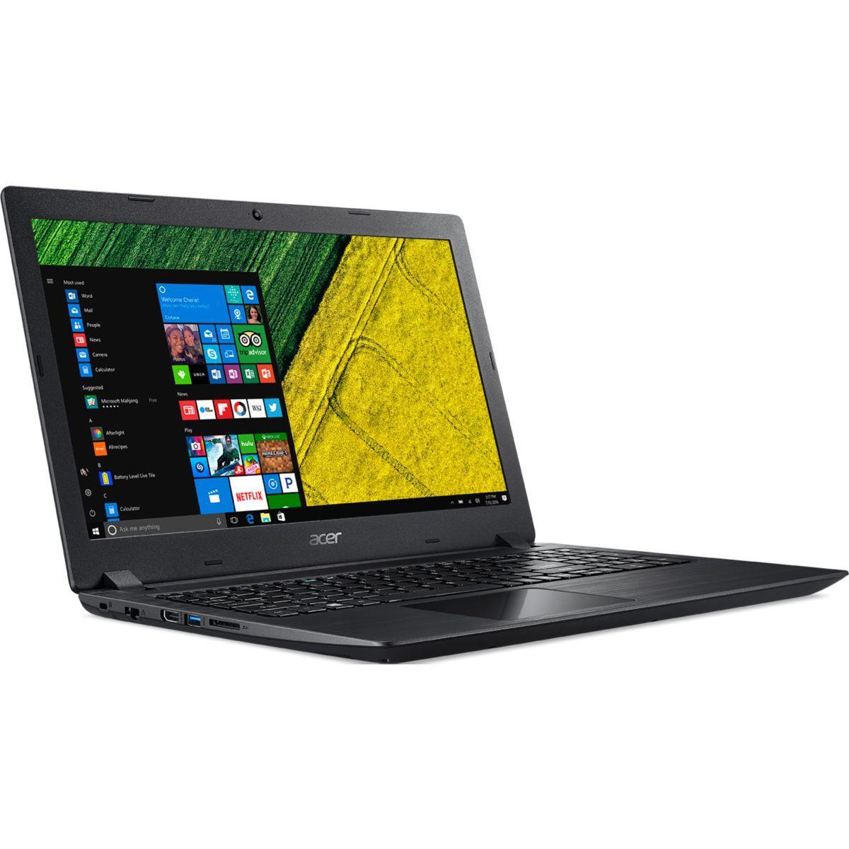 "Acer A315-31-C389 15"" Celeron 1,1 GHz  - HDD 1 TB - 4GB - teclado francés"
