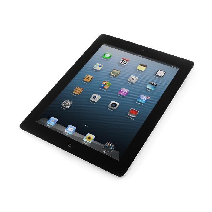 iPad 4 9.7'' 32 Go - Wifi + 4G - Noir - Débloqué