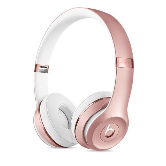 Casque Bluetooth Beats Solo 3 -  Rose Or
