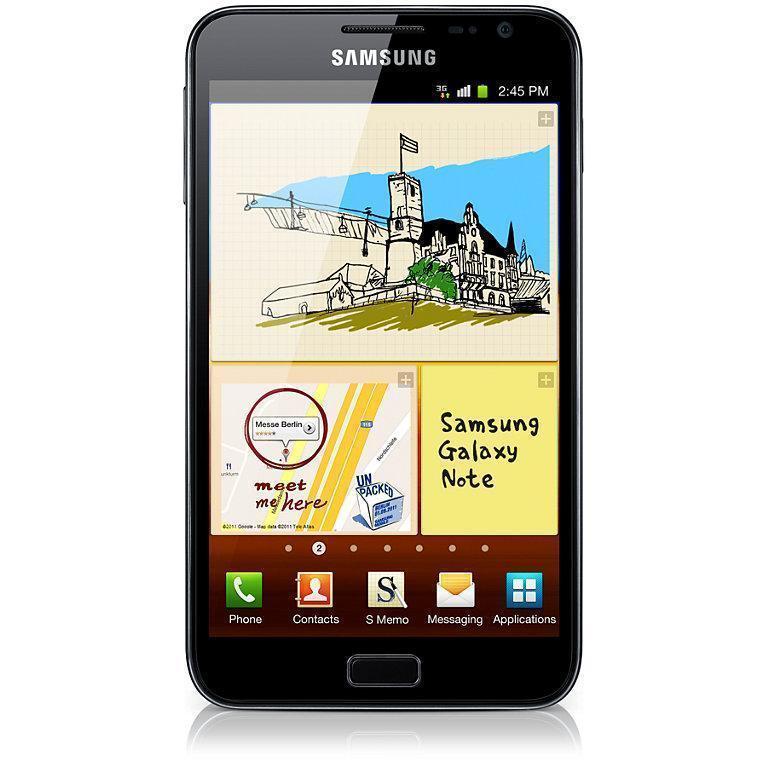 Samsung Galaxy Note 16 GB N7000 - Schwarz - Ohne Vertrag