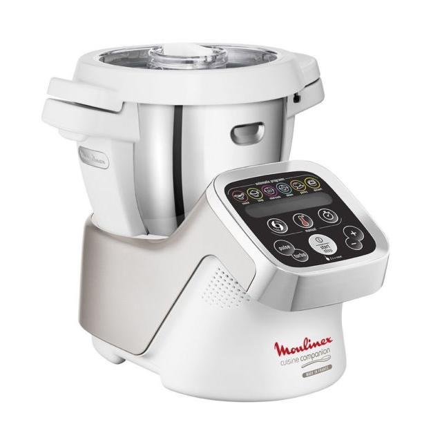 Multifunktions-Küchenmaschine MOULINEX HF800A13 Weiß