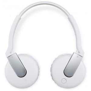 Casque Réducteur de Bruit Bluetooth avec Micro Sony DR-BTN200M - Blanc