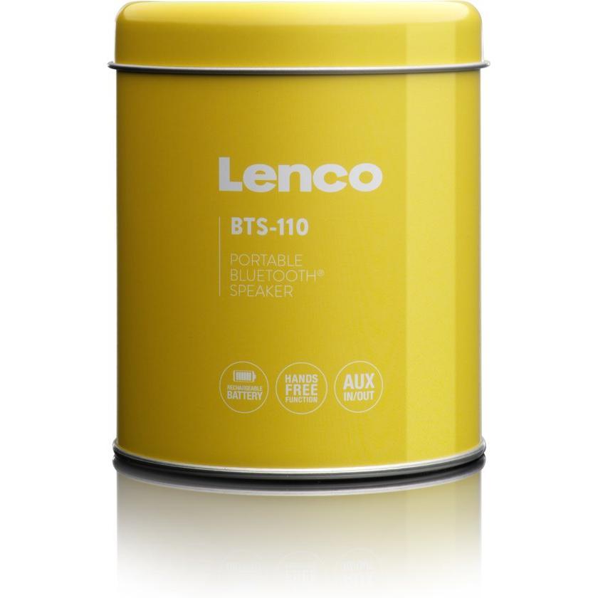 Enceinte Bluetooth Lenco BTS-110 - Jaune