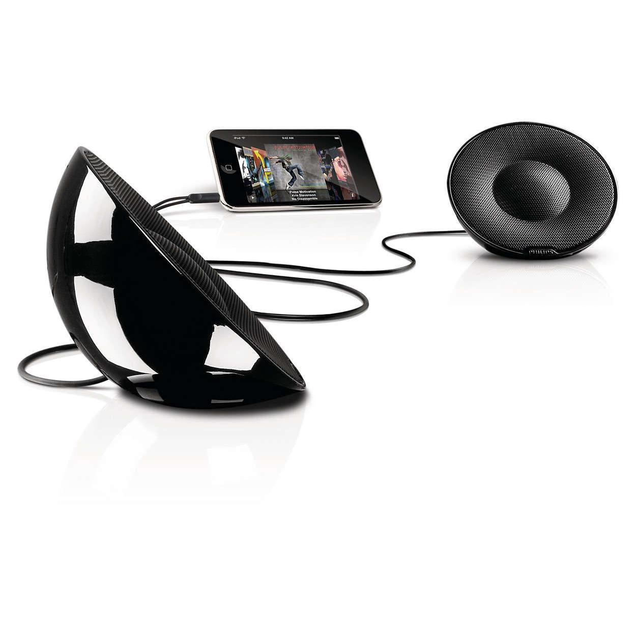 Enceinte portable Philips SBP1120/10 - Noir